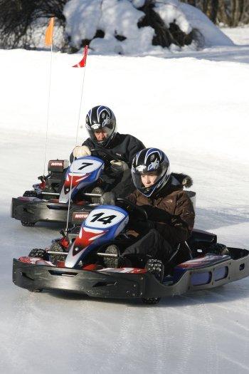 Grand Prix de Kart sur glace pour votre séjour au ski à Serre Chevalier