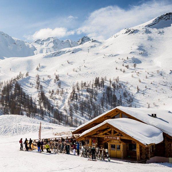 Restaurant d'altitude pour votre séjour au ski tout compris à Serre Chevalier