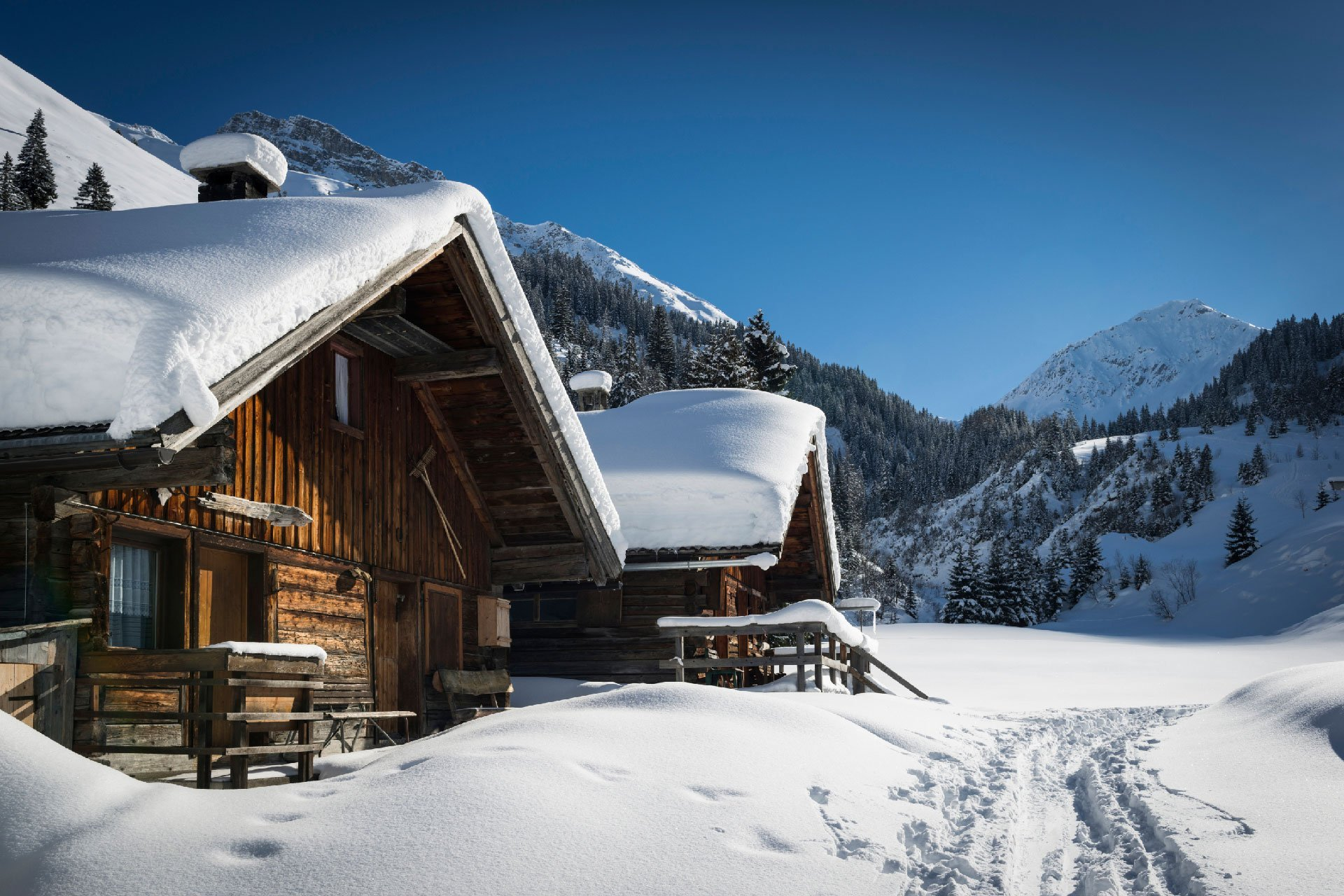 location chalets luxe ski