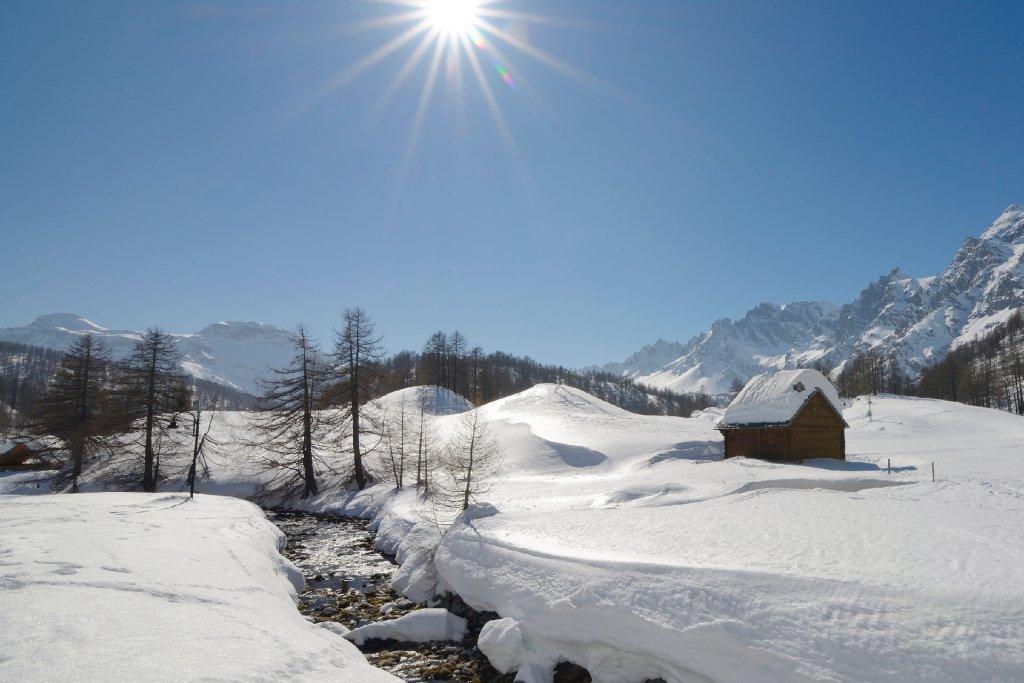 location chalets luxe ski à Serre Chevalier pied de pistes