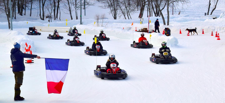 Kart sur glace